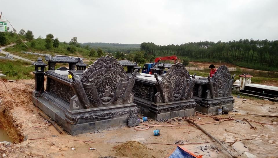 lăng mộ đá -cơ sở đá mỹ nghệ Báo Ân